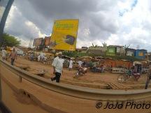 Market in Busega, Uganda